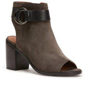 Frye Danica Suede Harness Boots